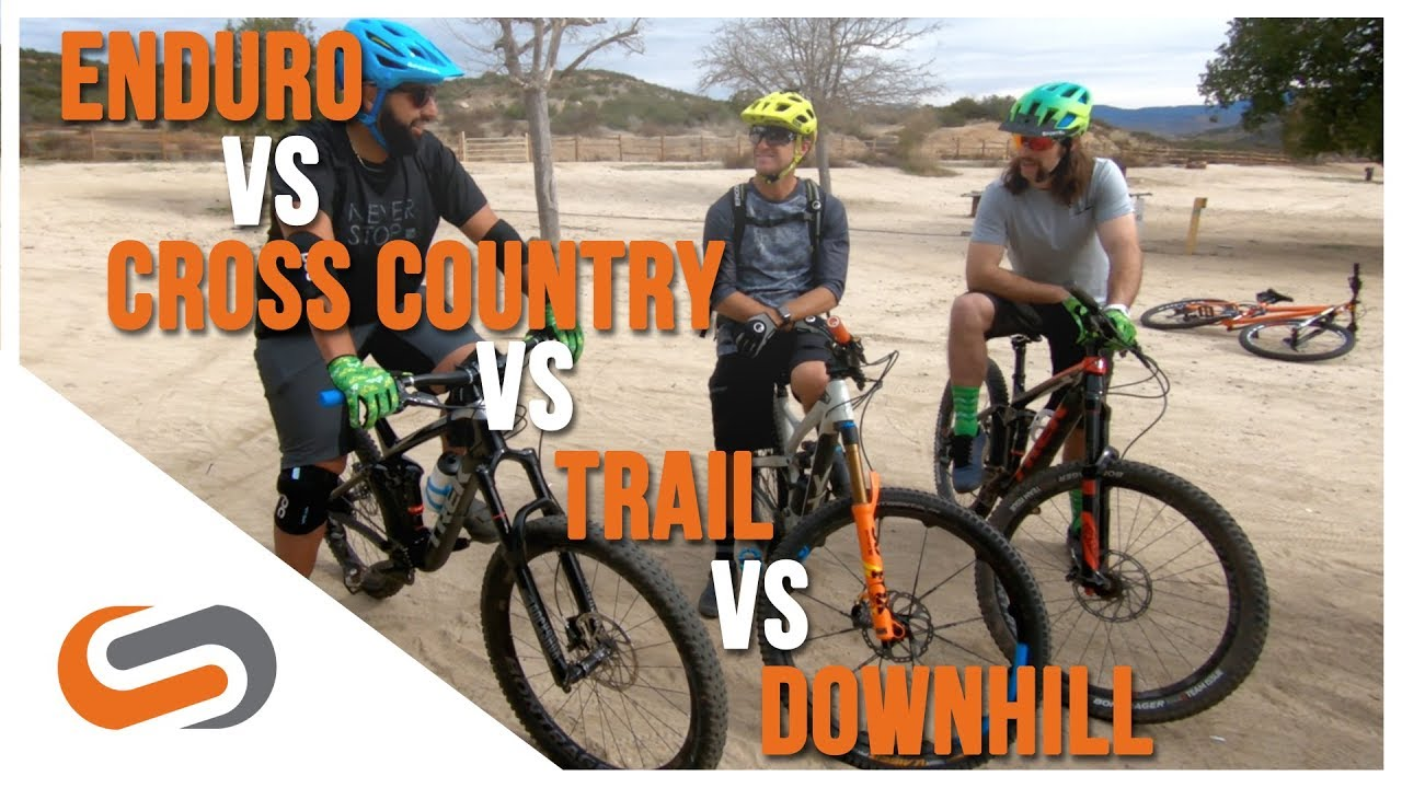 MTB Categories: Enduro vs. Cross Country vs. Trail vs. Downhill