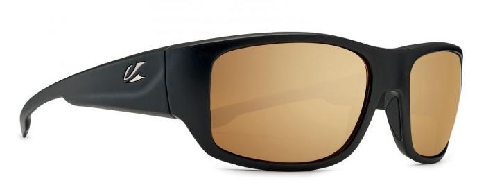 43a26c986de Kaenon Anacapa in Matte Black with Brown-12 Polarized Gold Mirror Lenses