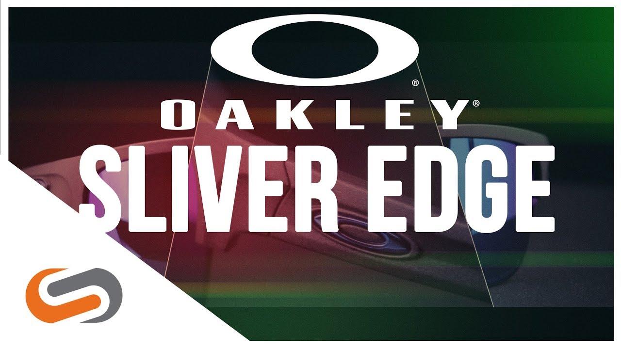 4224a5dec418 Oakley Sliver Edge Sunglasses Review | SportRx