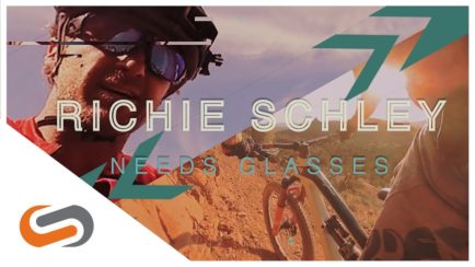Richie Schley Wears Prescription Mountain Bike Sunglasses