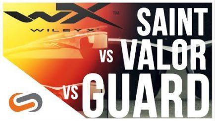 26deeaf84fd Wiley X Saint vs Valor vs Guard Sunglasses Review