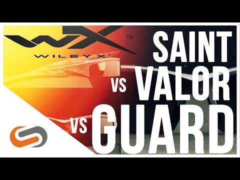 Wiley X Saint vs Valor vs Guard Sunglasses Review | Wiley X Safety Glasses