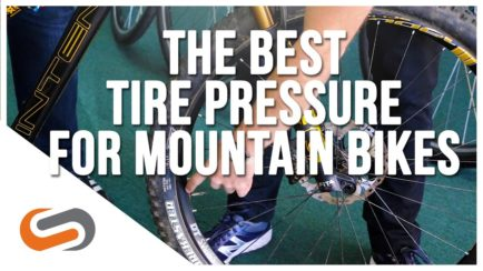 What's My Mountain Bike Tire Pressure Sweet Spot?