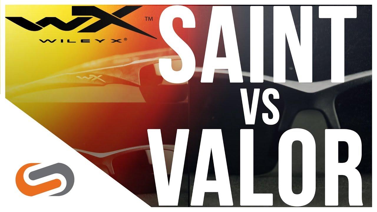 Wiley X Saint vs Valor Sunglasses Review   Wiley X Sunglasses