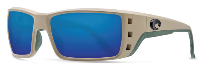 7ab3b341d8 Costa Permit in Matte Sand with 580 Blue Mirrored lenses