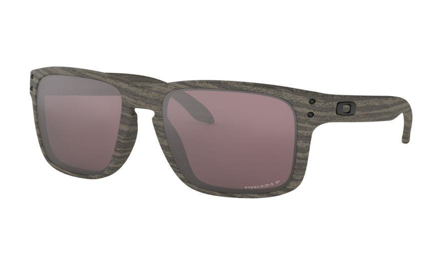 Oakley Holbrook with Woodgrain Frames & Prizm Daily Polarized