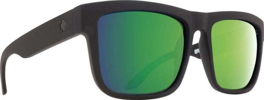 SPY Discord with Matte Black Frames & Happy Bronze Polarized with Green Spectra