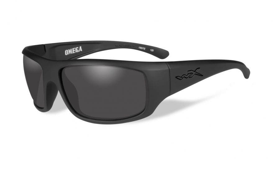 Wiley X Omega with Matte Black Frames & Smoke Grey