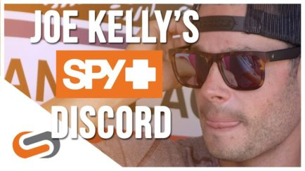 eead104f81 Joe Kelly Strikes Again with SPY Discord Sunglasses for the Win Win