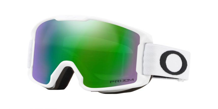 Goggle Size Guide Oakley Line Miner Youth in Matte White with PRIZM™ Jade 7d1c0b90d26df