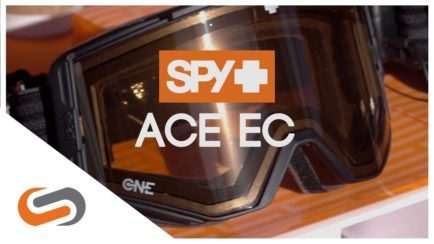 SPY Ace EC Goggle - First Look | SPY Ski & Snowboard Goggles