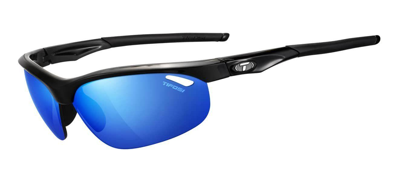 ae2df6fd41 Tifosi Veloce in Gloss Black with Clarion Blue Lenses