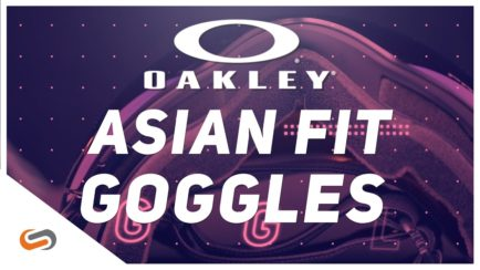 Oakley Asian Fit Snow Goggles