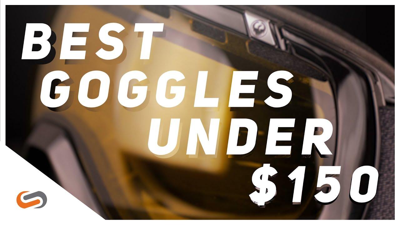 Best Ski & Snowboard Goggles Under $150