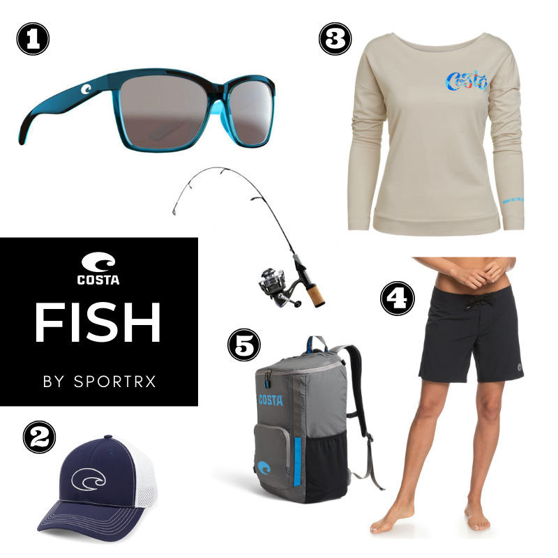 costa fishing gear and polarized sunglasses for women