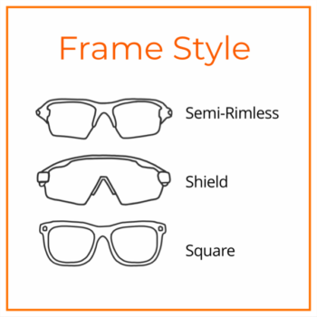 8ab57ec09e Semi-rimless frames only have a top rim allowing for unobstructed vision