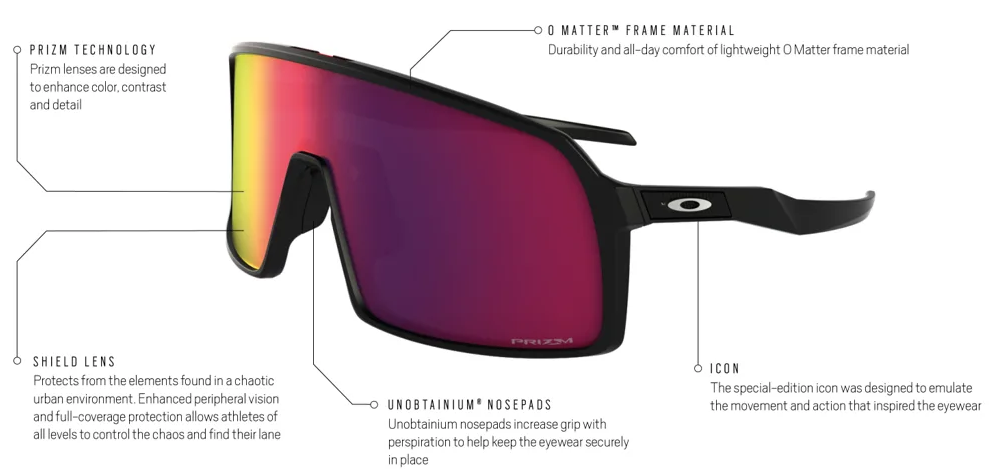 a3d9c13c9c This gives you the versatility to go from hanging out to playing your  favorite sport with zero hesitation on what sunglasses to wear.