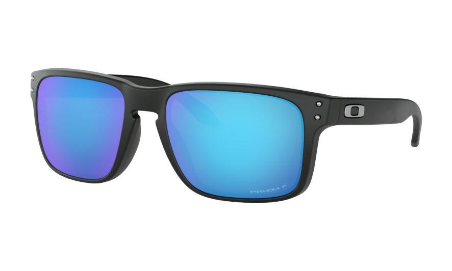 d1755f45bea holbrook prizm sapphire Oakley Holbrook in Matte Black with PRIZM Sapphire  Polarized