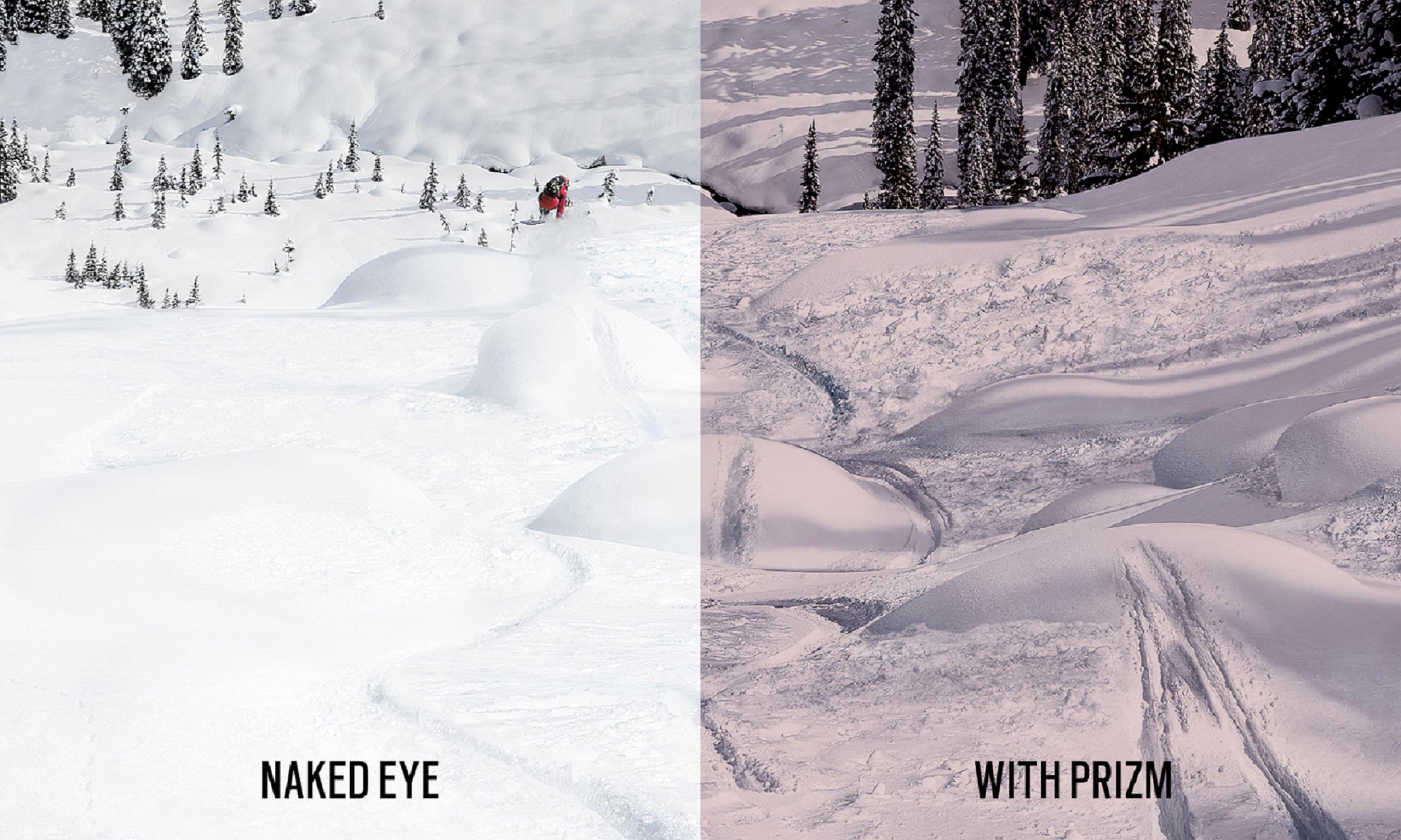 prizm snow split