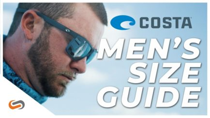 Costa Mens Size Guide 2019
