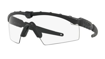 Oakley Industrial M Frame 2.0 Ansi in Matte Black with a Clear Lens