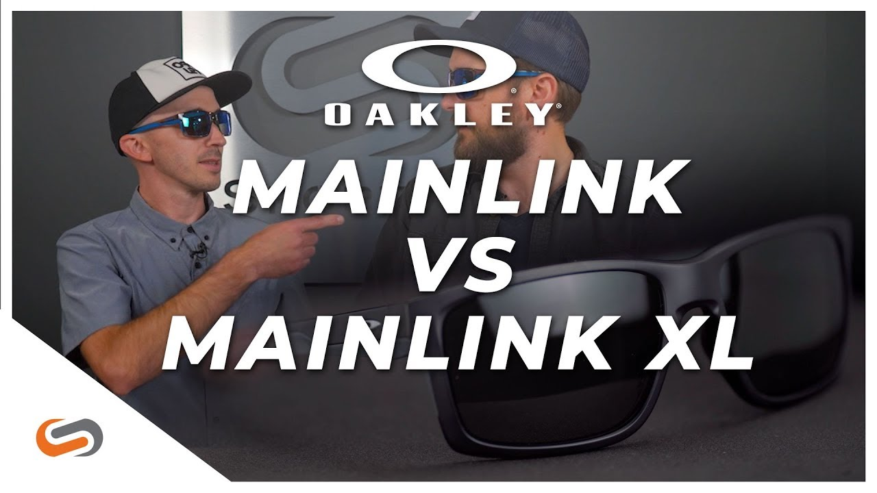 Oakley Mainlink XL vs. Mainlink | Oakley Athleisure Sunglasses
