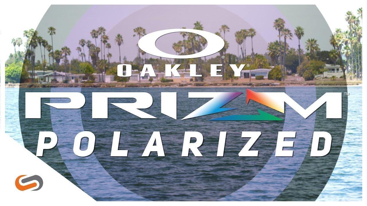 Oakley PRIZM Polarized Lens Technology