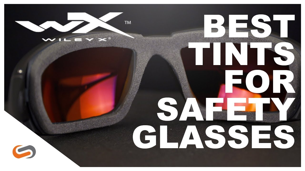 Best Lens Tints for Safety Glasses