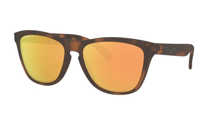 Oakley Frogskins with PRIZM Rose Gold