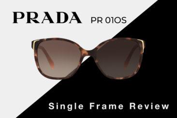 Prada PR 01OS Sunglasses Review | Prada Women's Square Sunglasses