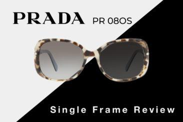 Prada PR 08OS Sunglasses Review | Prada Women's Square Sunglasses