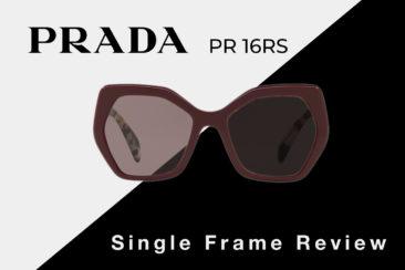 Prada PR 16RS Sunglasses Review   Prada Women's Square Sunglasses