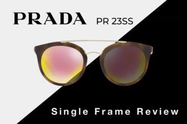 Prada PR 23SS Sunglasses Review | Prada Women's Round Sunglasses