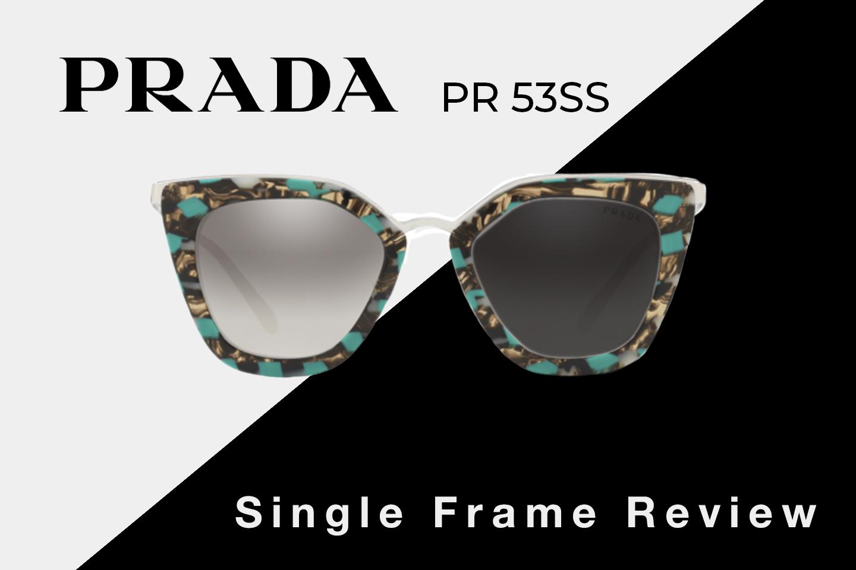 a425c6b77a Prada PR 53SS Sunglasses Review | Prada Women's Cat Eye Sunglasses ...