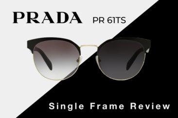 Prada PR 61TS Sunglasses Review | Prada Women's Round Sunglasses