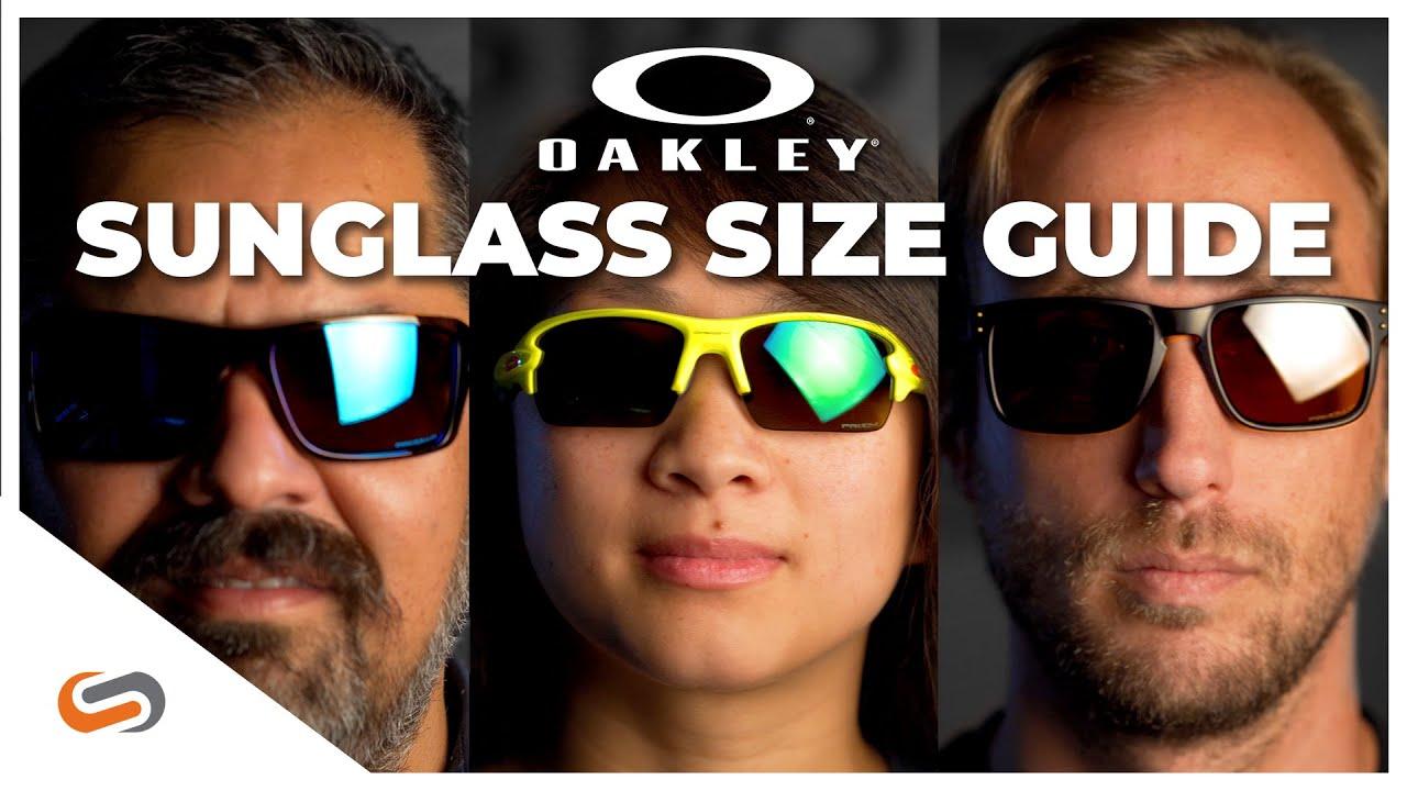 Oakley Sunglasses Size Guide | SportRx