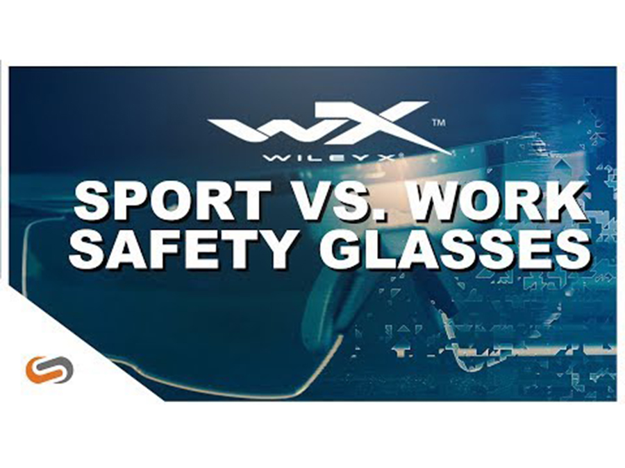 Sport Safety Glasses vs Work Safety Glasses | What's the difference?